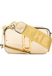 Marc Jacobs Carteira The Snapshot Espelhada - Dourado