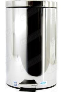 Lixeira Standard Aço Inox 12L Com Pedal 3045-203 Brinox