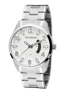 Relógio Technos Racer 2115Ksu/1Y Prata 2115Ksu/1Y