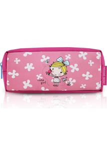 Necessaire/Estojo Jacki Design Ahl17272-Pk-2 Pink T Un