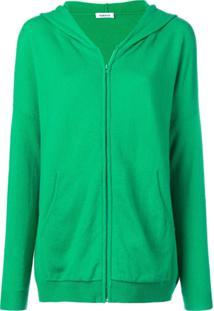 P.A.R.O.S.H. Moletom De Cashmere Com Capuz - Verde