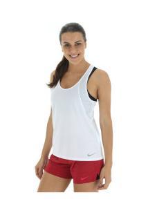 36ed1c3059 ... Camiseta Regata Nike Run Tank - Feminina - Branco