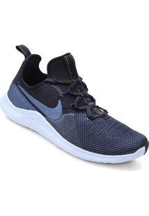 Tênis Nike Free Tr 8 Metalic Feminino - Feminino-Preto+Azul