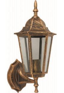 Arandela Biancoluce Colonial Ouro Velho 37Cm Nice Ac204P Luminárias - Kanui