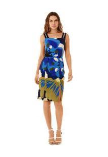 6830b3781b Zattini Vestido Curto Morena Rosa Decote Transpassado Tecidos - Feminino- Roxo+Bege. Ir para a loja  -30% Vestido Curto Decote Quadrado Com Metal Roxo  - P