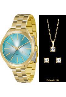 Kit Relógio Feminino Lince Lrg4329L K133A1Kx