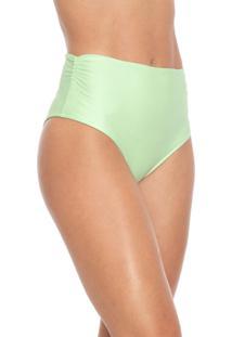 Calcinha Cia.Maritima Hot Pant Lisa Verde