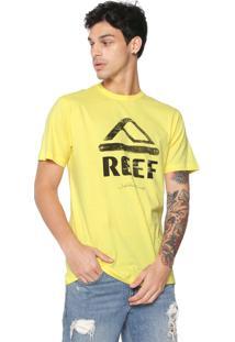 Camiseta Reef Destroyed Amarela