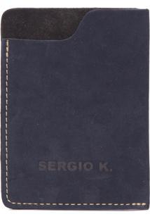 Carteira Masculina Pocket - Azul