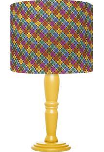 Abajur Carambola Clover Colorido - Multicolorido - Dafiti