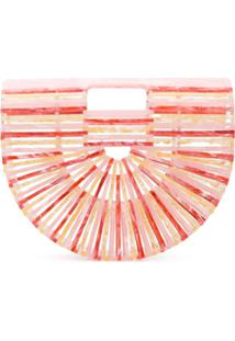Cult Gaia Clutch Ark - Rosa