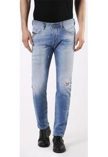 Calça Diesel Belther L32 Trouser | Masculina - Masculino-Azul