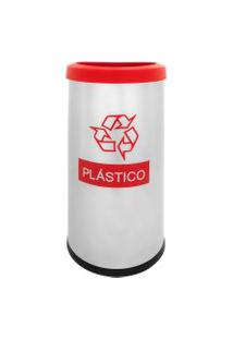 Lixeira Seletiva Recycling Plástico 40,5 Litros - Brinox
