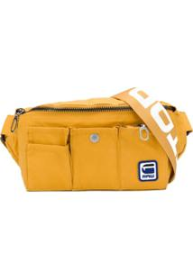 G-Star Raw Research Pochete Com Patch - Amarelo