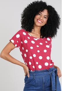6a41634b57 Blusa Decote Redondo Estampada feminina