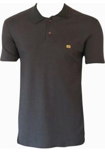 Camiseta Polo Especial Sueding Hb Masculina - Masculino