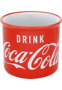 Caneca Coca-Cola® Logo Drink- Vermelha & Branca- 380Urban