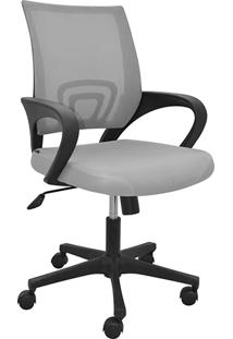 Cadeira Office Santiago Cinza - Rivatti