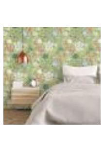 Papel De Parede Autocolante Rolo 0,58 X 5M - Floral 210115