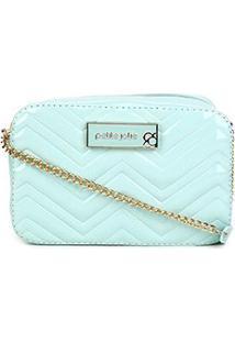 Bolsa Petite Jolie Mini Bag Nic Zig Zag Feminina - Feminino-Verde