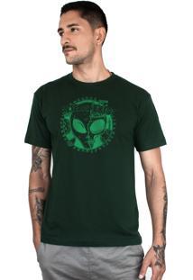 Camiseta Bleed American E.T. Musgo