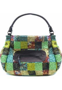 Bolsa Venetoria Clover Em Patchwork Original - Multicolorido - Feminino - Dafiti