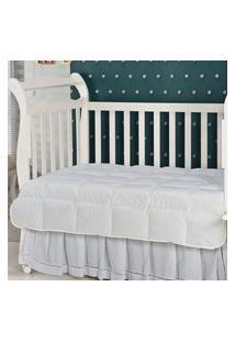 Edredom Infantil Plumasul Summer Baby Pluma De Ganso 120X140Cm Branco