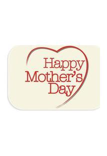 Tapete Wevans Decorativo Happy Mother'S Day Creme