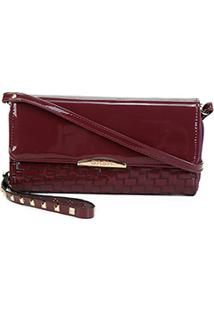 Carteira Luxcel Mini Bag Feminina - Feminino-Vinho