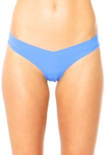 Calcinha Hope Fio Dental Nude Azul
