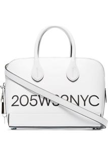 Calvin Klein 205W39Nyc Bolsa Tote Dalton Pequena Com Logo - Branco