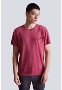 Camiseta Enxuto Bolso Reserva Masculina - Masculino-Pink