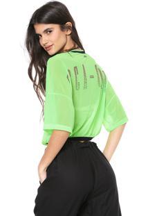 Blusa Coca-Cola Jeans Lettering Verde