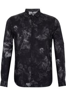 Camisa Smoke (Estampado, M)