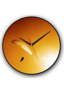 Relógio De Parede Colours Creative Photo Decor Decorativo, Criativo E Diferente - Parapente