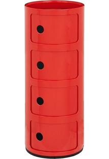 Módulo Castelli 4 Andares - Vermelho