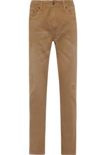 Calça Masculina Camel Rasgos - Bege