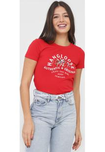 Camiseta Hang Loose Company Vermelha - Kanui