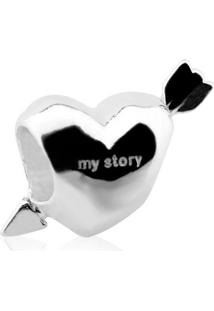 Pingente Love Com Pedras - My Story - Pg15830