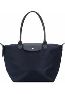 Longchamp Bolsa Tote Le Pliage - Azul