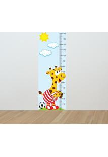 Adesivo Régua De Crescimento Girafa Colorado (0,50M X 1,50M)