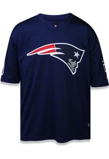 T-Shirt New Era Especial M/C New England Patriots Marinho