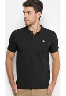 Camisa Polo Lacoste Live Piquet Masculina - Masculino
