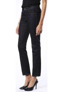 Calça Jeans Diesel Sandy Feminina - Feminino-Marinho