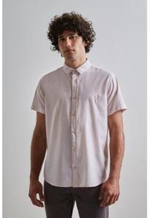 Camisa Pf Leve Verano Mc Reserva Masculina - Masculino-Rosa Claro