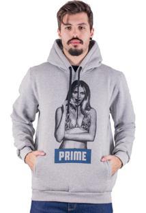 Moletom Canguru Prime Girl - Masculino