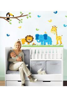 Adesivo Decorativo Stixx Zoo - Verde - Verde - Dafiti