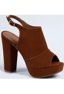 Bota Feminina Ankle Boot Marisa 4133607