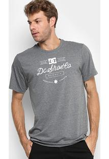 Camiseta Dc Shoes M/C Nine Four Masculina - Masculino