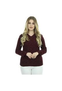 Blusa Tricot Karen Feminina Inverno Shopping Do Tricô Lã